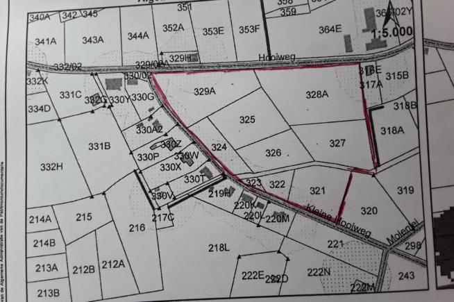 Bijzonder groot blok (net geen 5HA) landbouwgrond te koop in Itegem
