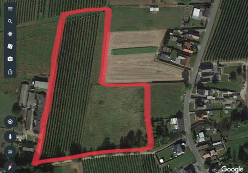Landbouwgrond 2,6 ha gelegen in Herk-de-Stad