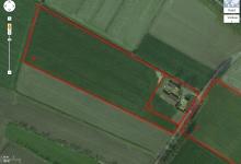 ADEGEM, mooie percelen landbouwgrond, verpacht (recht op hoger bod tot 23 mei)