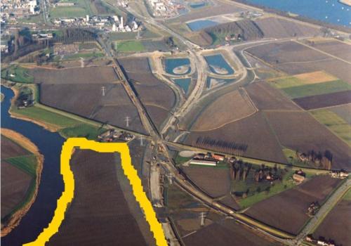 Verkoop vier hectaren landbouwgrond te Hoek (Terneuzen)