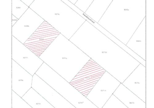BILZEN (3740)  2 percelen landbouwgrond 2 AFD/BEVERST/