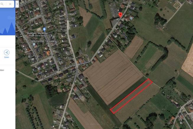 Landbouwgrond in Grimminge