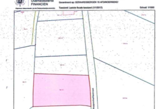 Openbare verkoping 30 mei 2018, landbouwgrond te Geraardsbergen-Moerbeke