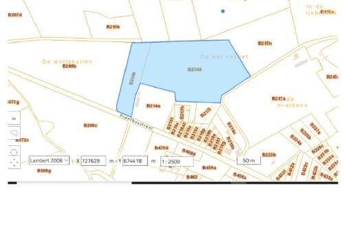 2 Percelen landbouwgrond te Hoeselt, Proefbosstraat