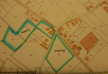 MERCHTEM, openbare verkoop van een hoeve met omringende landbouwgronden, pachtvrij