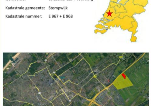Te Koop perceel/kavel grond in Den Haag