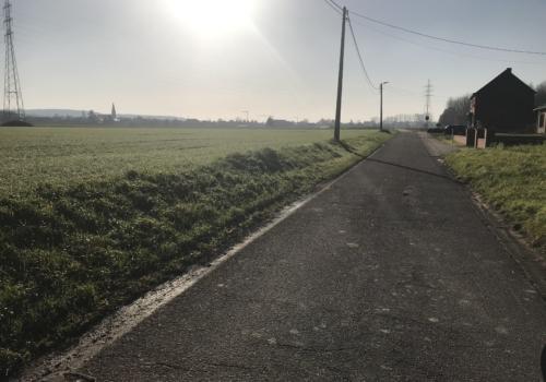Vruchtbare landbouwgrond Rotselaar Grensstraat