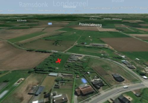 Uniek perceel landbouwgrond te Sint-Amands Smissen !