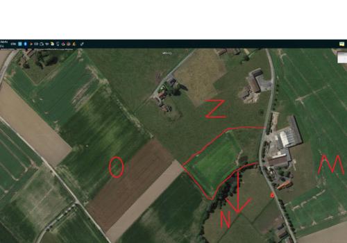 Landbouwgrond 1.17 ha te Dentergem