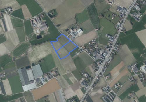Circa 3 hectare landbouwgrond te Meulebeke