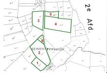Openbare verkoop 1 juni 2016, 3 HA landbouwgrond te Herne ( Kokejane )